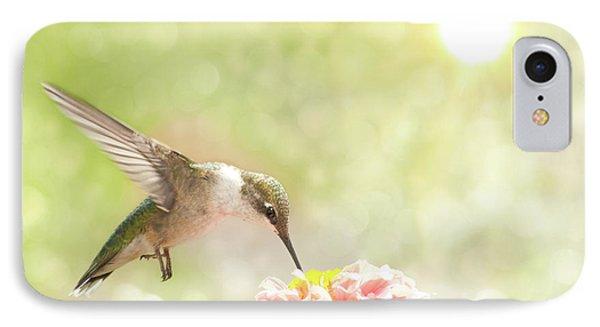 Beautiful Hummingbird IPhone Case