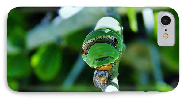 Big Green Caterpillar IPhone Case