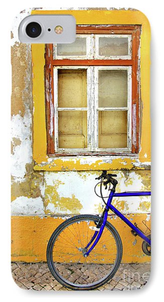 Bicycle iPhone 8 Case - Bike Window by Carlos Caetano