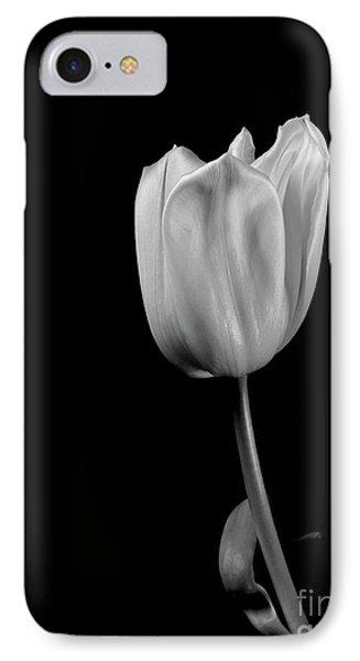 Black And White Tulip IPhone Case