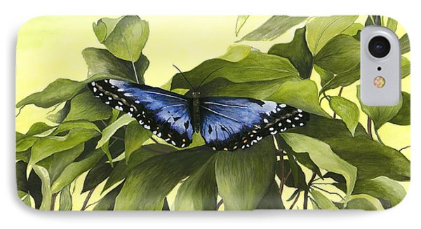 Blue Butterfly Of Branson IPhone Case