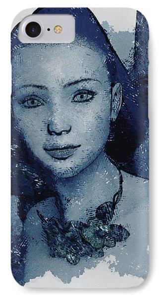Blue Fae IPhone Case
