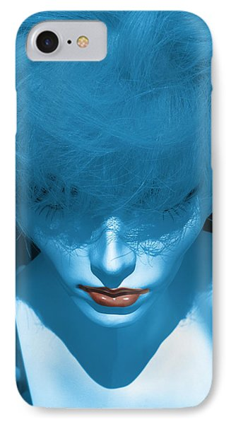 Blue Kiss IPhone Case
