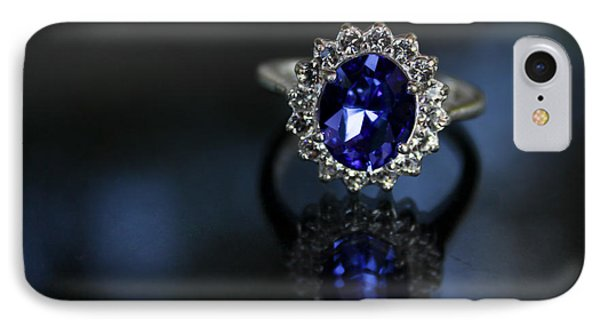 Blue On Bling IPhone Case