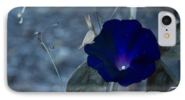Blue Petunia 2 IPhone Case