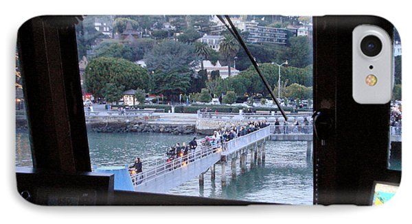 Boarding At Sausalito IPhone Case