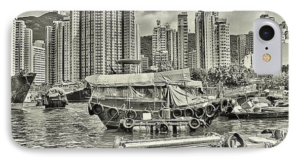 Boat Life In Hong Kong IPhone Case