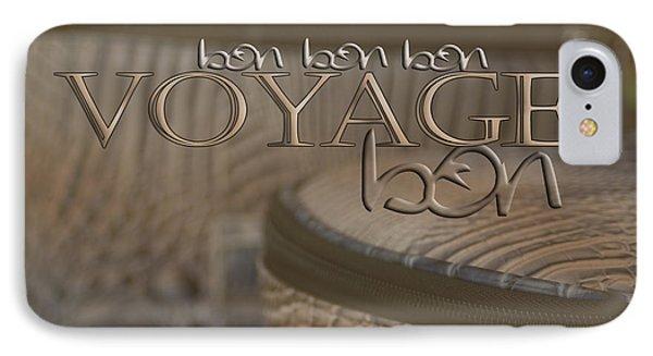 Bon Voyage IPhone Case