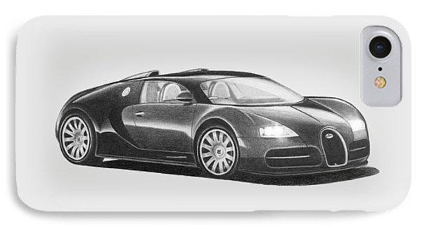 Bugatti Veyron Eb IPhone Case