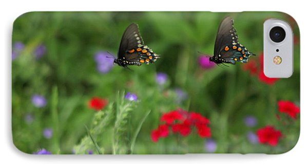 Butterfly Chase IPhone Case