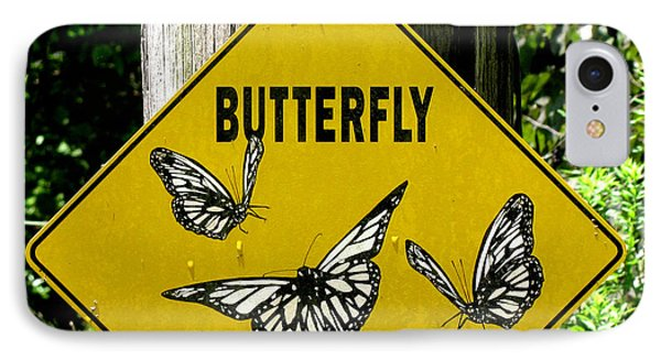 Butterfly Crossing IPhone Case