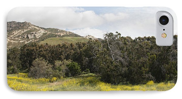 California Hillside View IIi IPhone Case