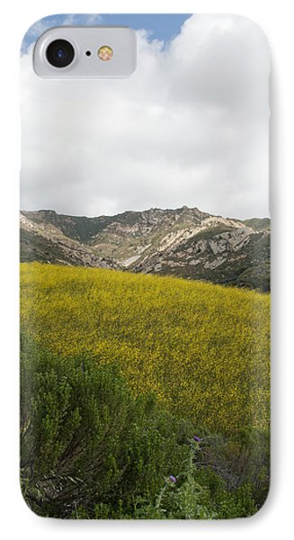 California Hillside View V IPhone Case