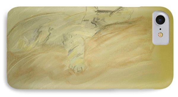 Cat Sketch IPhone Case