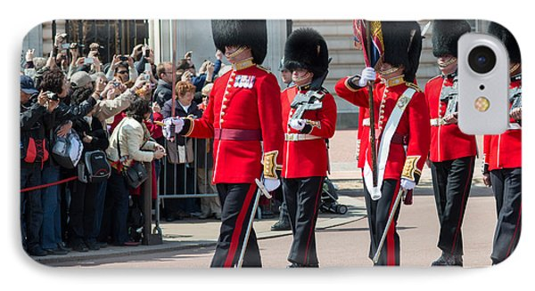 Changing Of The Guard At Buckingham Palace IPhone Case