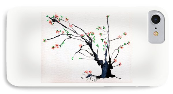 Cherry Tree By Straw IPhone Case