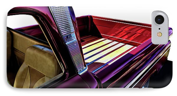 Truck iPhone 8 Case - Chevy Custom Truckbed by Douglas Pittman