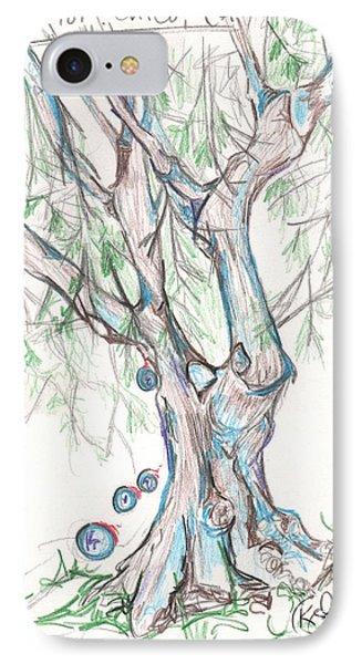 Chico Ca River Tree IPhone Case
