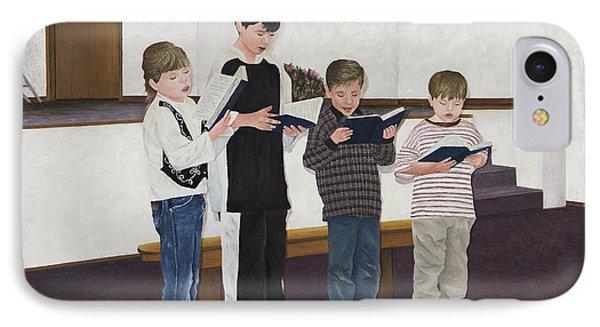 Children Sing Praise IPhone Case