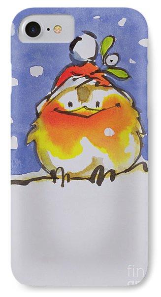 Christmas Robin IPhone Case