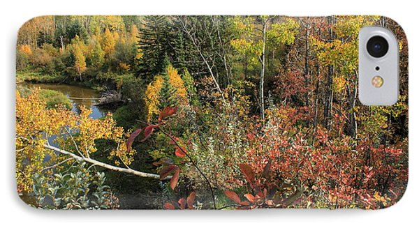 Colorful Canadian Autumn IPhone Case