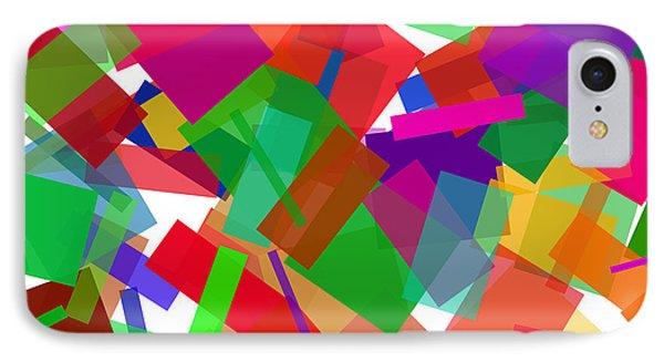 Confetti Multicolor IPhone Case