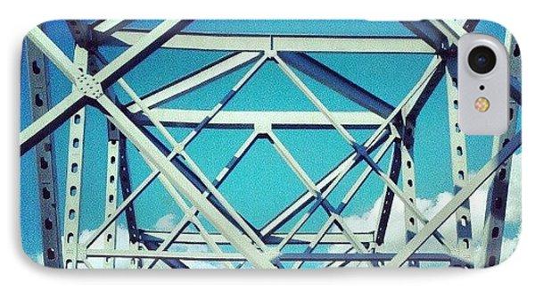 Cool #bridge #ohio IPhone Case