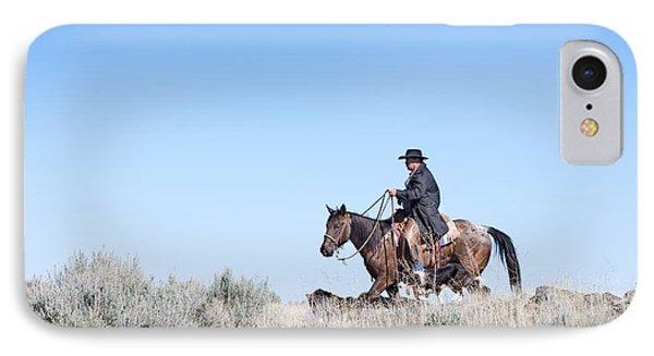 Cowboy Desert Moon IPhone Case