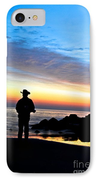 Cowboy Sunrise IPhone Case