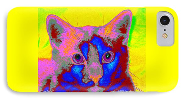 Crayola Cat IPhone Case