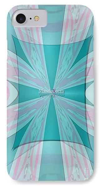 Cream Mint Flow IPhone Case