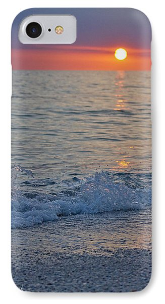 Crystal Blue Waters At Sunset In Treasure Island Florida 2 IPhone Case