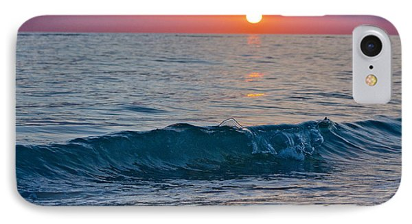 Crystal Blue Waters At Sunset In Treasure Island Florida 3 IPhone Case