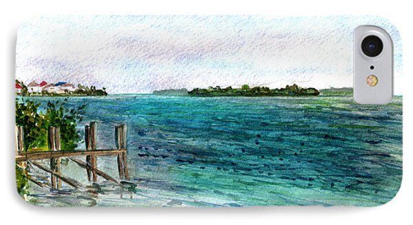 Cudjoe Bay IPhone Case
