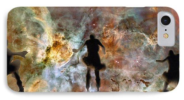 Dancing Nebula IPhone Case