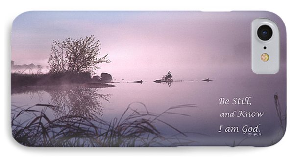 Dawn On The Chippewa River IPhone Case