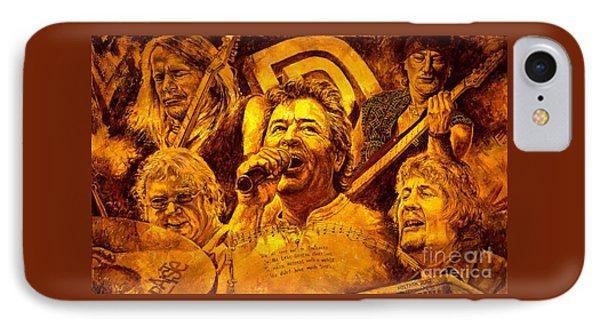 Deep Purple In Rock IPhone Case