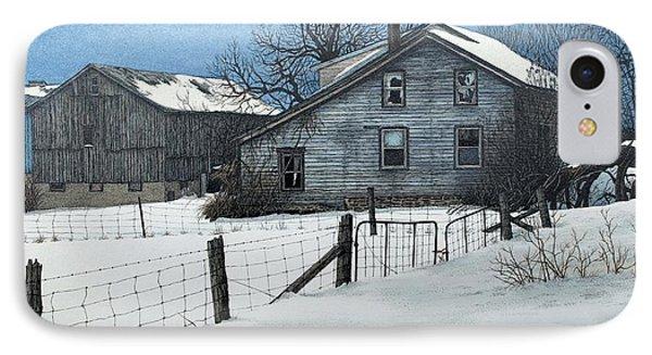 Deserted Farm Prince Edward County IPhone Case