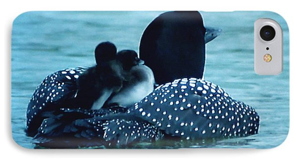 Duck Family Joy In The Lake  IPhone Case
