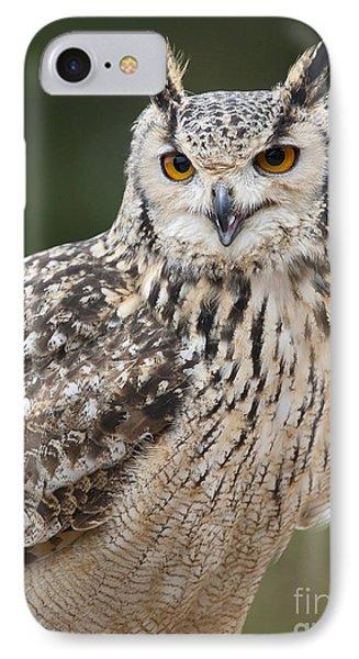 Eagle Owl II IPhone Case