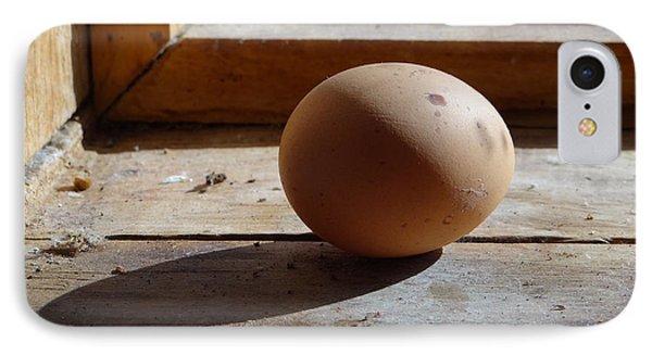 Egg On A Window Ledge IPhone Case