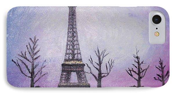Eiffel At Night IPhone Case