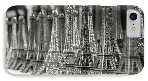 Eiffel Tower Miniature IPhone Case