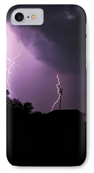 Electrifying Sky  IPhone Case