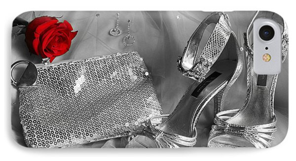 Elegant Night Out In Selective Color IPhone Case