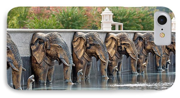 Elephants Of The Mandir IPhone Case