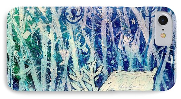 Enchanted Winter Forest IPhone Case