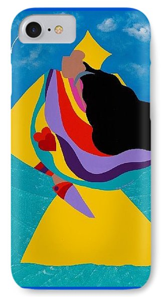 iPhone 8 Case - Erzulie Haitian Goddess Of Love by Synthia SAINT JAMES