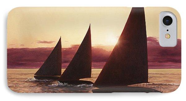 Evening Sails IPhone Case