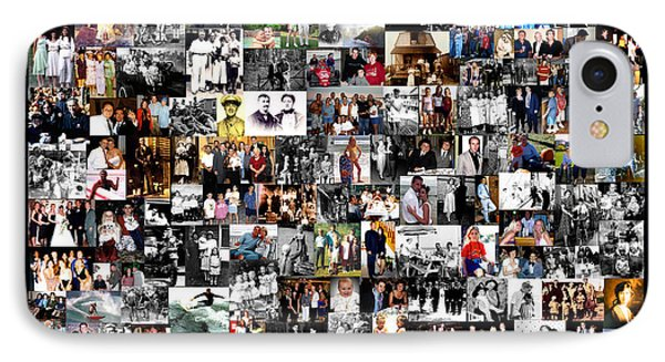 Extended Family Photo Collage IPhone Case